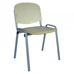 Krzesło Iso Alu Sklejka 8 mm