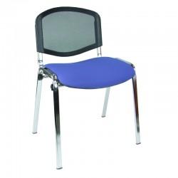 Krzesło konferencyjne iso chrom siatka