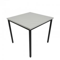 Stół Box Black 80x80 Szary