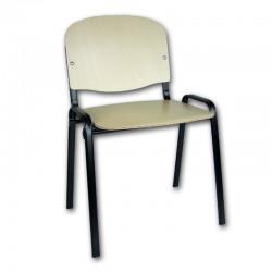 Krzesło Iso Black Sklejka