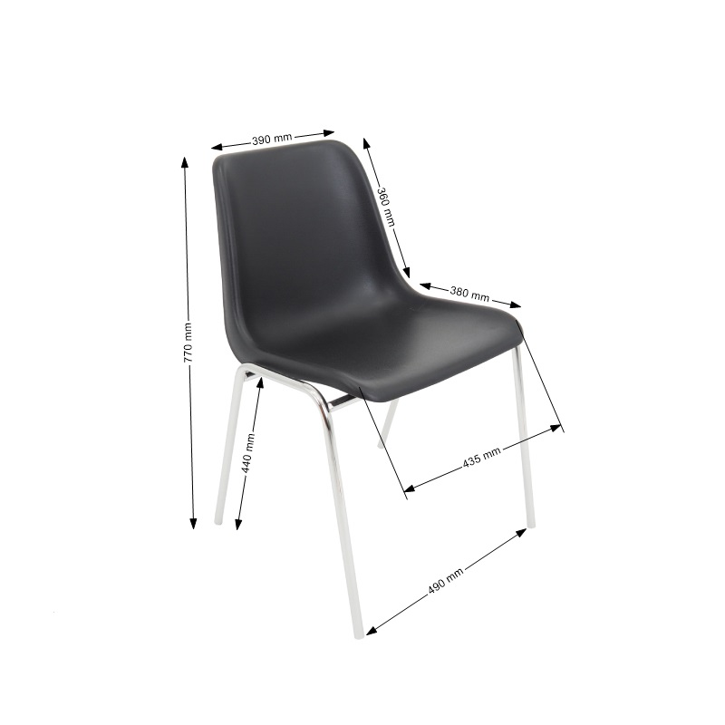 Krzesło Maxi Black Rurka.jpg